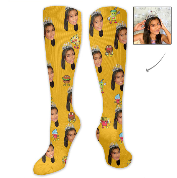 Custom Cute Women's Socks