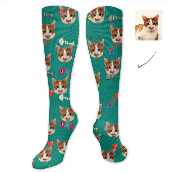 Custom Pet Cat Socks