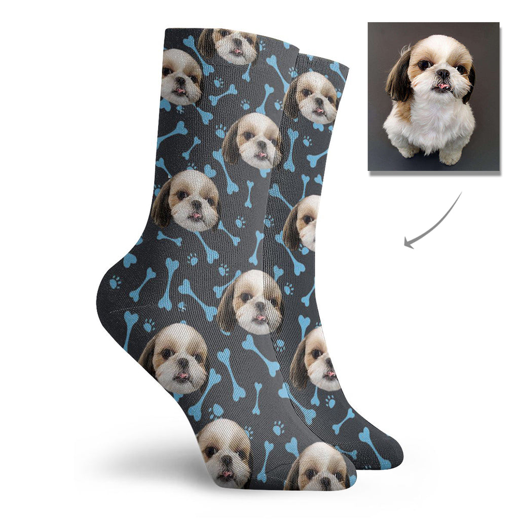 Custom Dog Short Socks - Lotjog