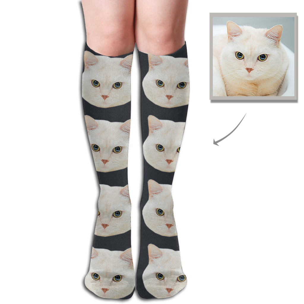 Custom Women's High Tube Socks - Lotjog