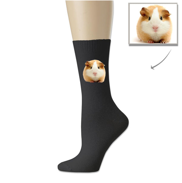 Custom Printed Guinea Pig Cotton Socks - Lotjog
