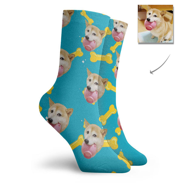 Custom Pet Dog Short Socks - Lotjog