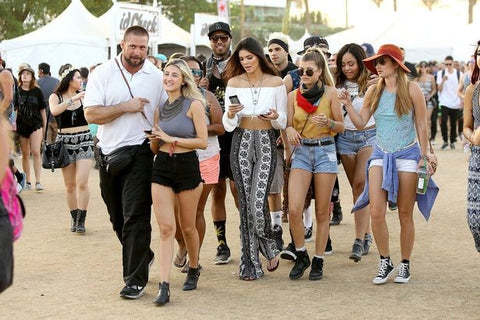 Celebrities at Coachella Festival | Gorilla Tents