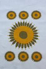 Load image into Gallery viewer, Pure linen tea towel, hand printed.
