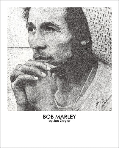 Bob Marley Joe Ziegler original artwork or print