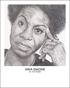 """Nina Simone"" by Joe Ziegler"