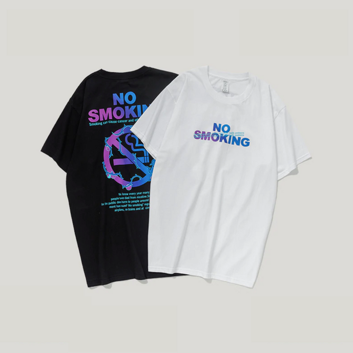 POLO - T-shirt NO SMOKING