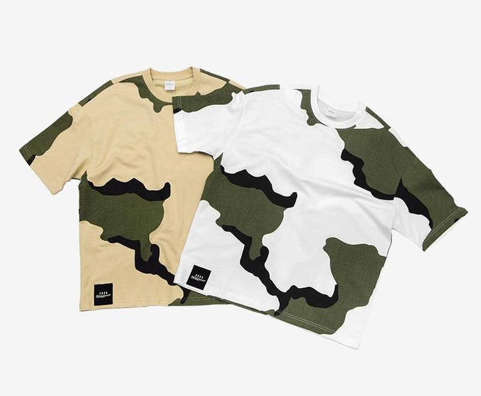 MARK - T-shirt Militaire