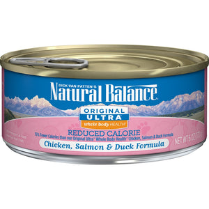 Natural Balance Original Ultra Whole Body Health Reduced Calorie Formula Canned Cat Food