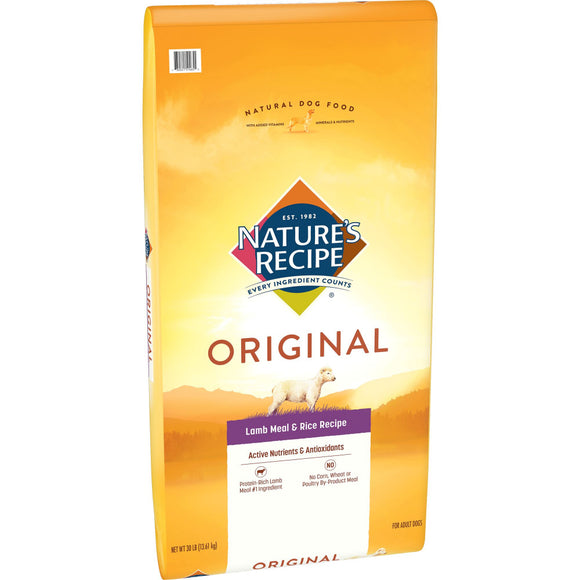 Nature's Recipe Adult Lamb Meal & Rice Dry Dog Food