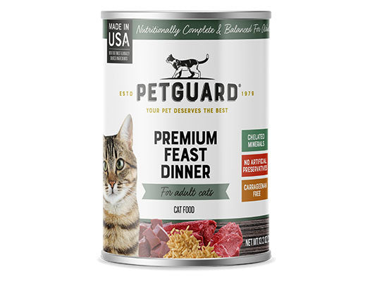 Petguard Premium Feast Dinner Canned Cat Food