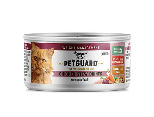 Petguard Chicken Stew Weight Management Dinner Canned Cat Food
