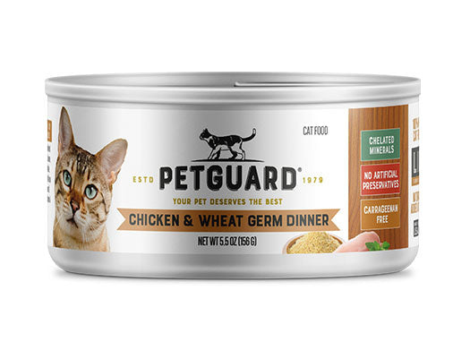 Petguard Chicken & Wheat Germ Dinner Canned Cat Food