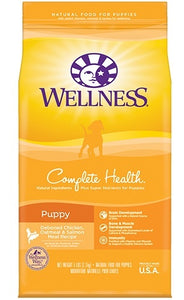 Wellness Complete Health Natural Puppy Chicken, Oatmeal and Salmon Dry Dog Food
