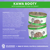 Weruva TRULUXE Kawa Booty with Kawakawa Tuna in Gravy Canned Cat Food