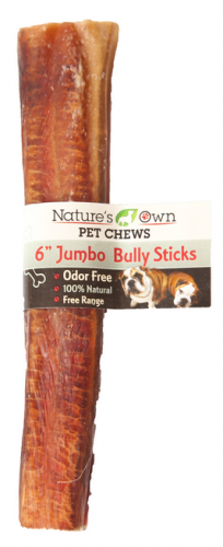 Nature's Own USA Odor-Free Jumbo Bully Sticks