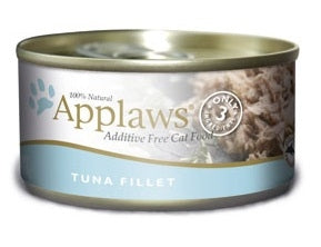 Applaws Additive Free Tuna Fillet Canned Cat Food