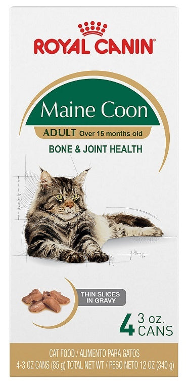 Royal Canin Maine Coon Thin Slices in Gravy Canned Cat Food