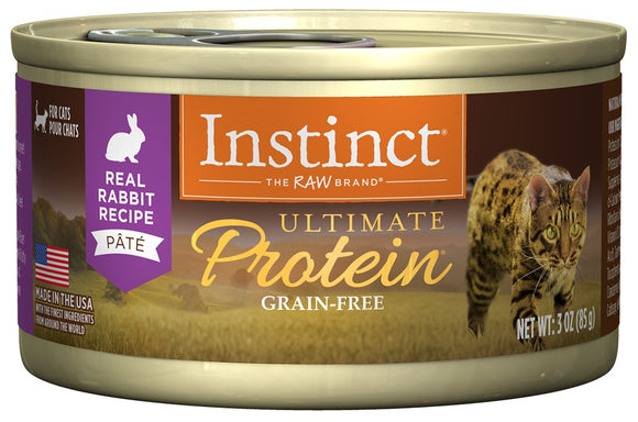 Instinct Ultimate Protein Grain Free Rabbit Natural Canned Cat Food