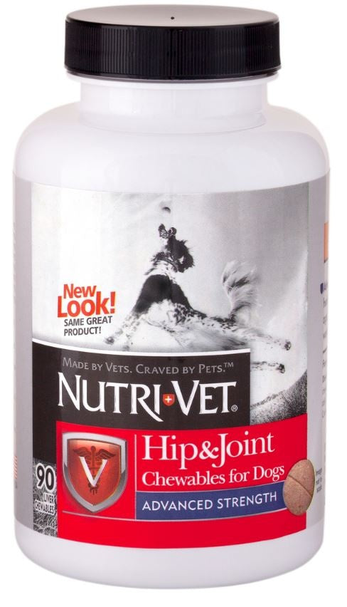 Nutri-Vet Hip and Joint Advance Strength Dog Chewables