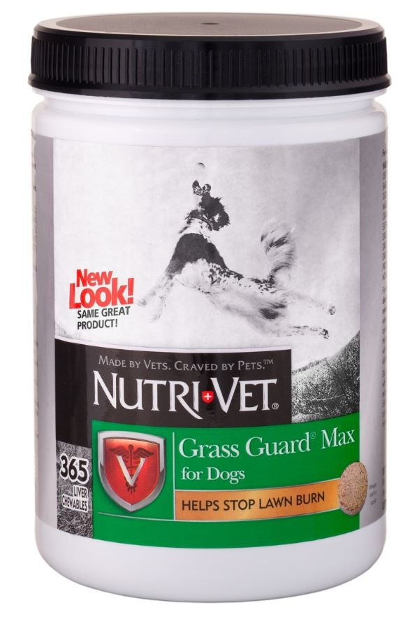Nutri-Vet Grass Guard Max Chewables for Dogs