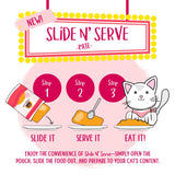 Weruva Slide N' Serve Grain Free Name 'Dat Tuna Tuna Dinner Wet Cat Food Pouch