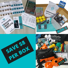 Load image into Gallery viewer, The SoftballaBox 6 Months - One Time Gift Purchase (Box 1 & Box 2)