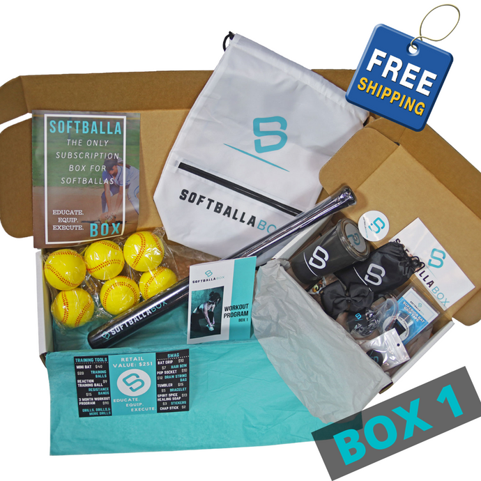 The SoftballaBox - Box 1 -One Time Gift Purchase