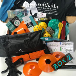The SoftballaBox 6 Months - One Time Gift Purchase (Box 1 & Box 2)