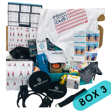Load image into Gallery viewer, The SoftballaBox 6 Months - One Time Gift Purchase (Box 3 & Box 4)