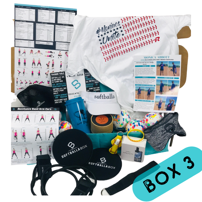 The SoftballaBox 6 Months - One Time Gift Purchase (Box 3 & Box 4)