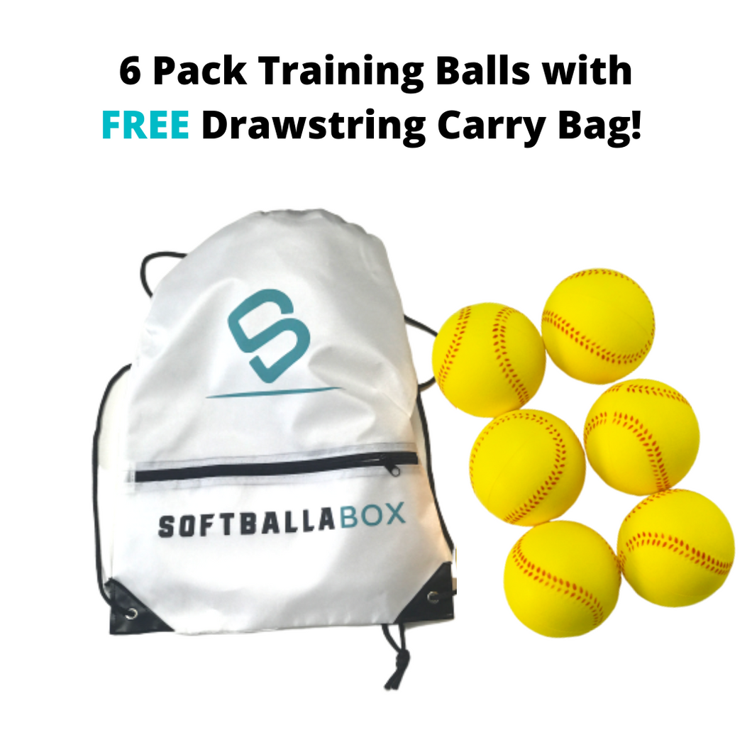 Softballa® Training Balls - Perfect for Indoor/Outdoor Training