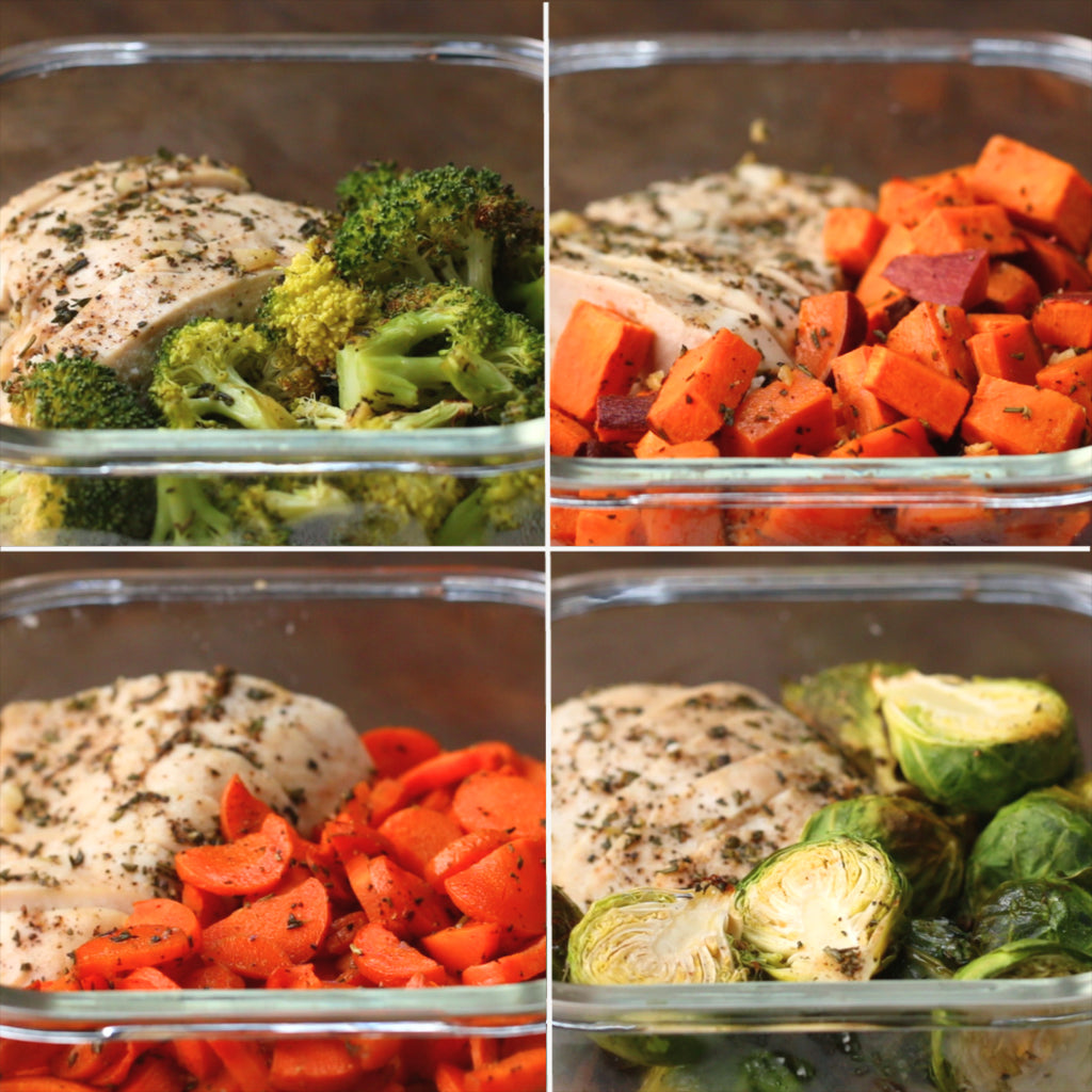 Inspo – One-pan Chicken & Veggie Meal Prep