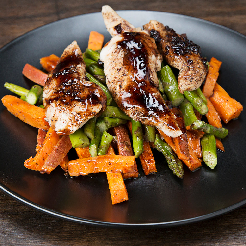 Meal Inspo: Balsamic Chicken And Veggies Meal Prep