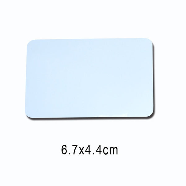 Rectangle fridge magnet w/ peronalised image