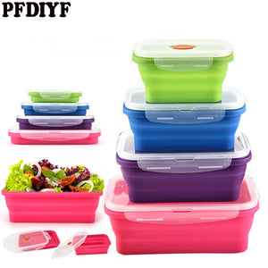 Brilliant Basics Collapsible Silicone Meal Packs
