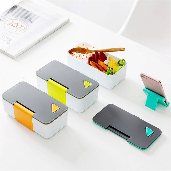 Gourmet Series Colourful Meal Pack with Phone Stand