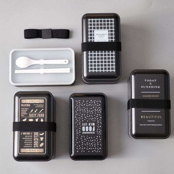 "Gourmet Series Two-tiered ""Noir"" Meal Pack"