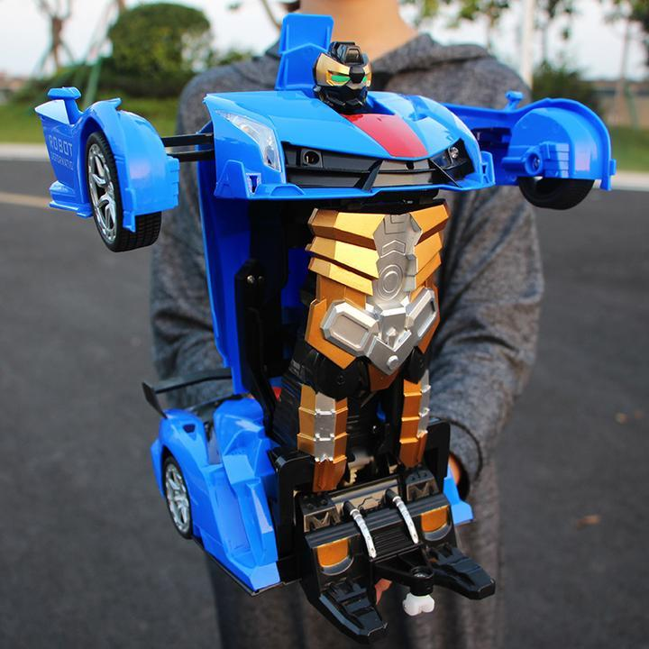 1:18 Remote Control Deformation Car and Robot with One Button Transformation