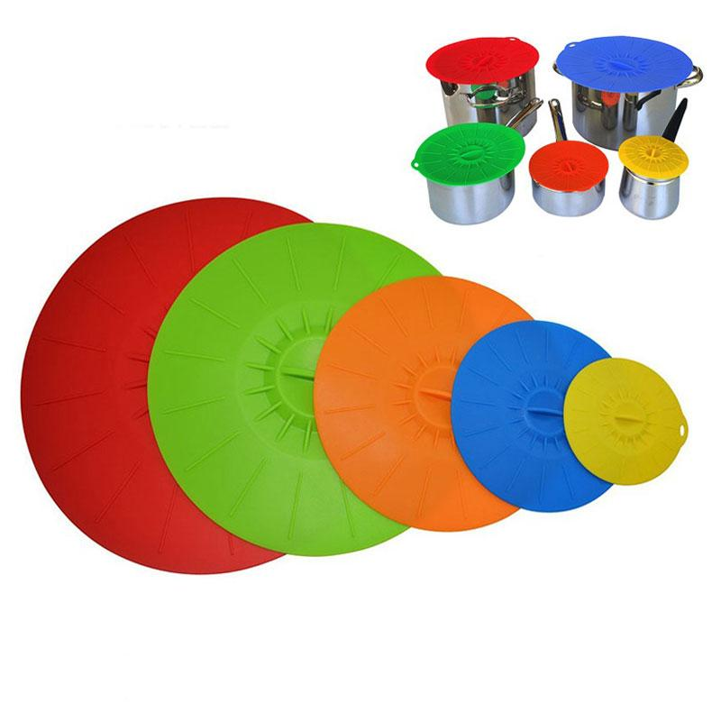 Reusable Silicone Seal Lids for Bowl/Pot/Pan