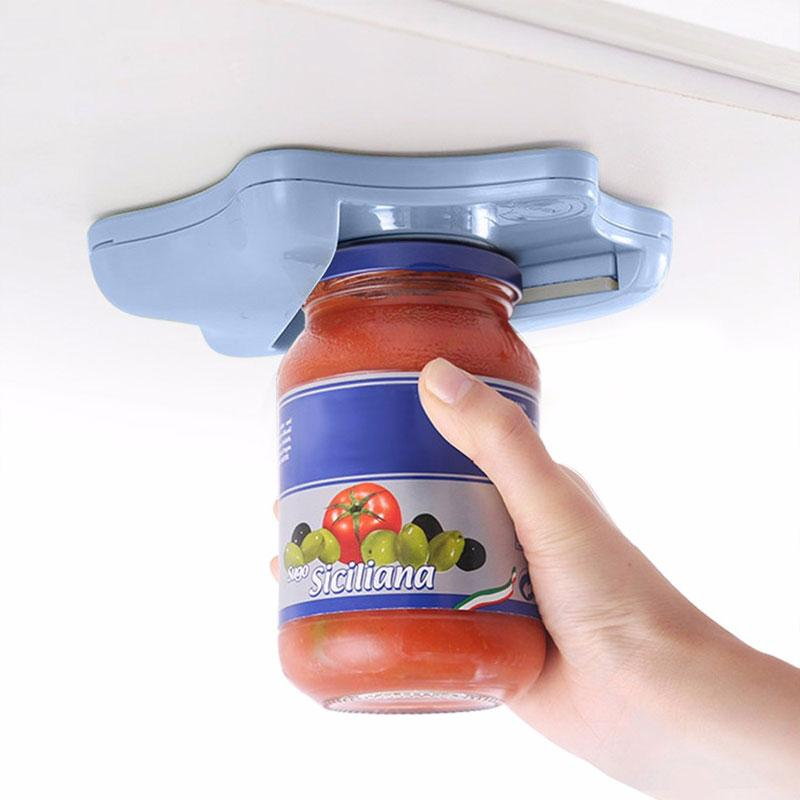 Universal Under Counter/Cabinet One-hand Jar Opener for All Sizes