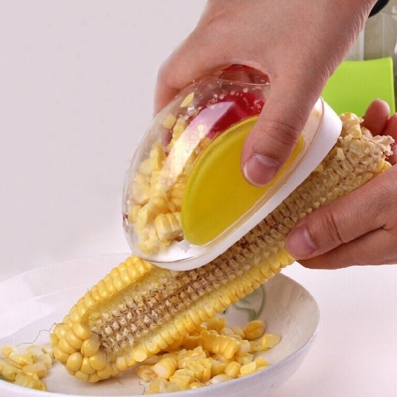 Stainless Steel Mouse-Shaped Corn Stripper for Home