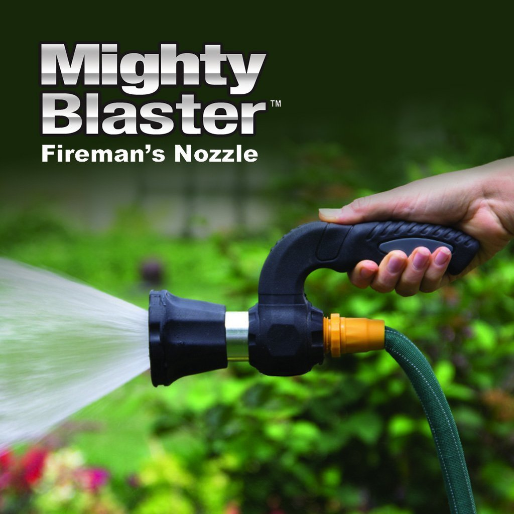 Mighty Blaster As Seen On TV Adjustable Spray Nozzle for Gardening/Washing