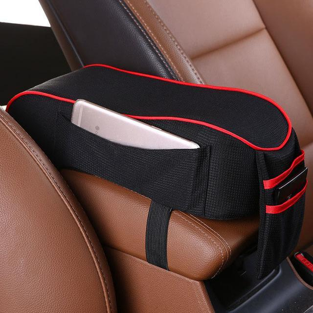 Leather Super Soft Memory Cotton Car Armrest