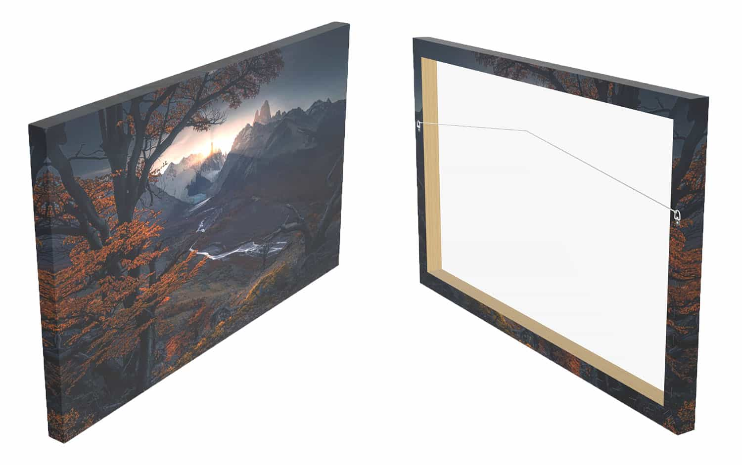 canvas-print-of-cerro-torre-at-sunset-during-autumn-material-front-and-back