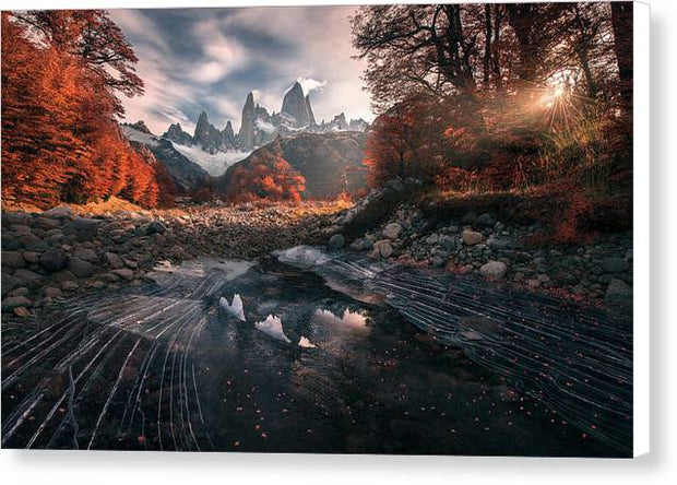 The Last Days of Autumn - Canvas Print