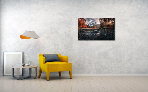 The Last Days of Autumn - Metal Print