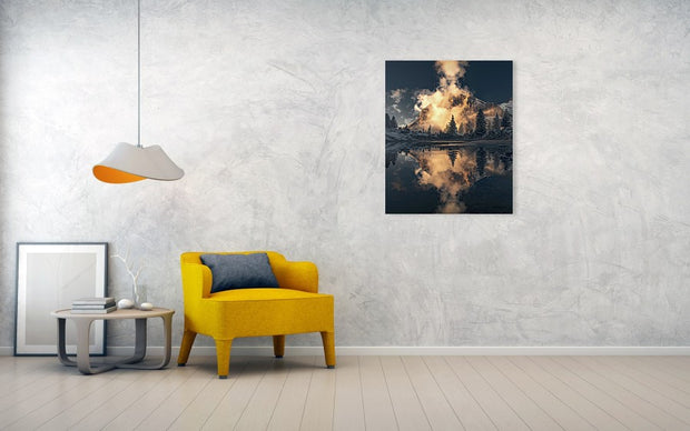 The One - Metal Print