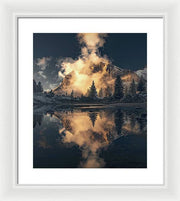 The One - Framed Print