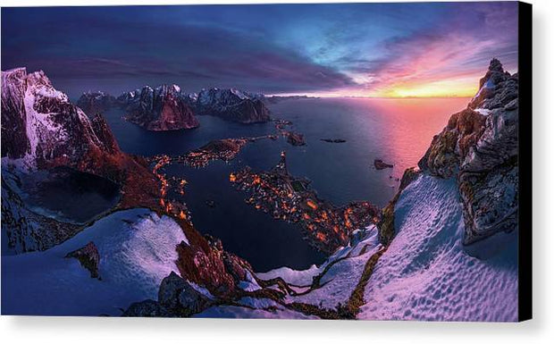 3 Minutes Before Sunrise - Canvas Print